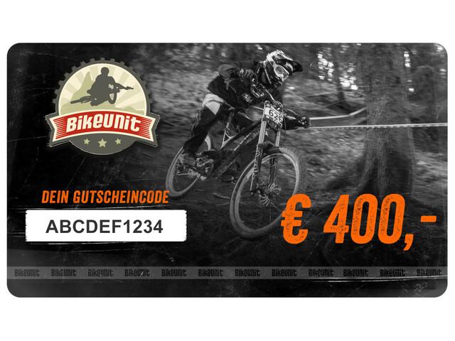 Bikeunit Geschenkgutschein 400 €